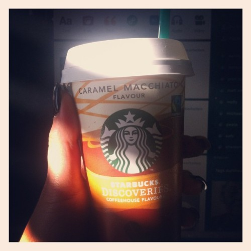 I could totally do with a Starbucks right now….oh wait… #starbucks #coffee #tumblr #love #nom  (Taken with Instagram)