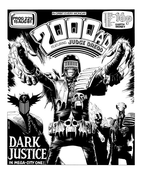 electricflag:  via http://2000adcovers.blogspot.com.au Judge Death was the best 2000 AD character