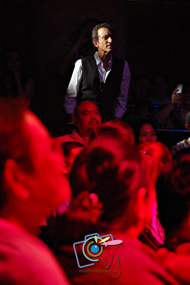 "VJP Spotted: David Pomeranz70s and 80s Relived06 July 2012 | Teatrino  David Pomeranz is an American singer, prolific songwriter and recording artist who penned the hits ""Tryin' to Get the Feeling Again,"" and ""The Old Songs"" for Barry Manilow, spotted at the 70s and 80s Relived held in Teatrino last 06 July 2012. He came by to show his support and friendship with the singing icons who performed in the said concert. Janet Basco (Finipino singer who popularized ""You Made Me Live Again"", ""Minsan Pa"" and ""My Girl, My Woman, My Friend"" with Jose Mari Chan) and The Tux's Jeric Mariano were also in attendance."