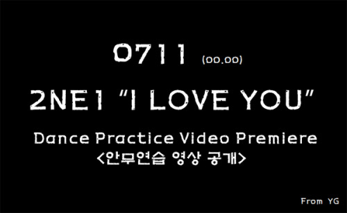 [OFFICIAL] 0711 - 2NE1's Dance Practice Video Premiere  source: YG-Life.com - [di@2ne1ph]