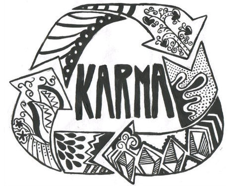 Do you believe? Karma wil be karma