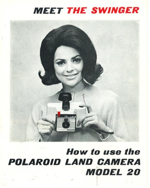 meet the swinger… hollyhocksandtulips:  Polaroid Land Camera, 1960s