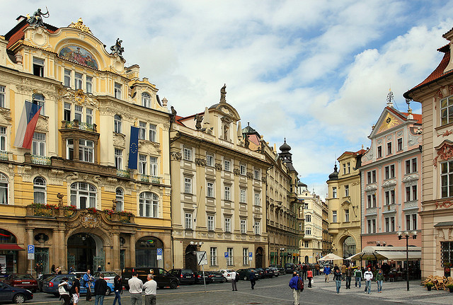 | ♕ |  Stare Mesto - Baroque town in Prague  | by © Pierre Richer | via ysvoice