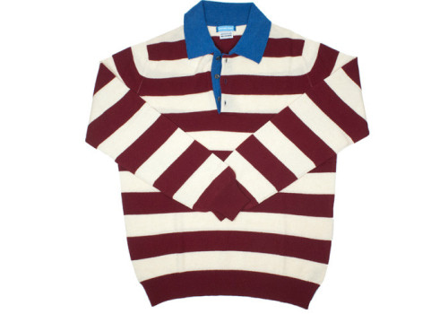Howard Yount cashmere rugby shirt — This is pretty damned fly.