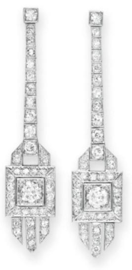 omgthatdress:  Earrings 1920 Christie's