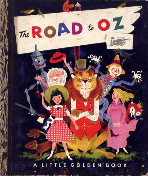 Road to Oz 1951 cover illustration by Harry McNaught