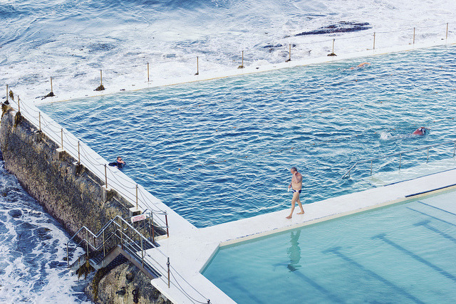 Outdoor Pools at Bondi Beach, Sydney by christine.m.kim on Flickr.