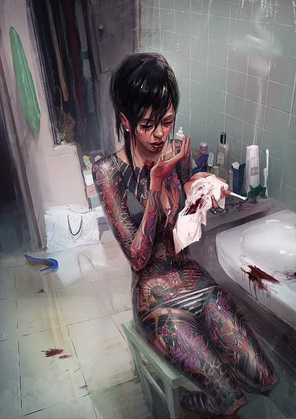 gaksdesigns:  Illustrator Michal Lisowski
