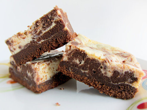 clottedcreamscone:  Cheesecake Brownies by ~dabbisch