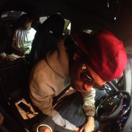 "officialchrisbrownblog:  ""Jack in da box!"""