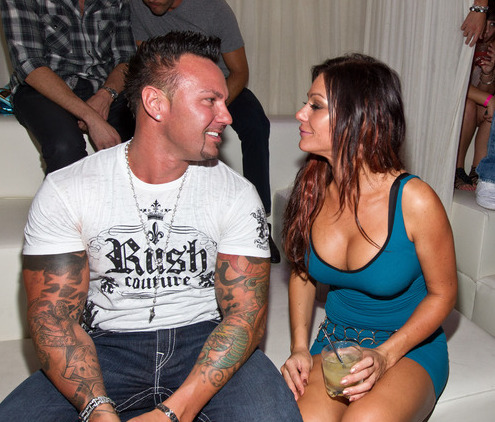 fyjwoww:  Jenni and Roger at Pure, August 2011