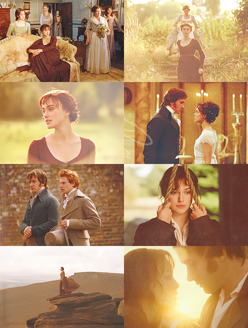 Never-ending list of favourite movies: Pride and Prejudice (2005)  You have bewitched me, body and soul, and I love, I love, I love you. I never wish to be parted from you from this day on.