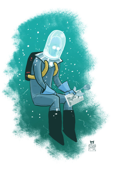 """One character a day"", day 9, Mr. Freeze"