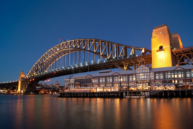 Sydney Harbour Bridge on Flickr. Haven't got pictures of the Sydney Harbour Bridge from this spot in the library, so went to take some earlier today. Probably have pictures of the bridge from all accessible angles now haha.