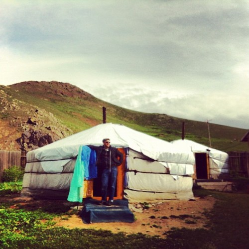 Yurt dude, Terelj (Taken with Instagram)