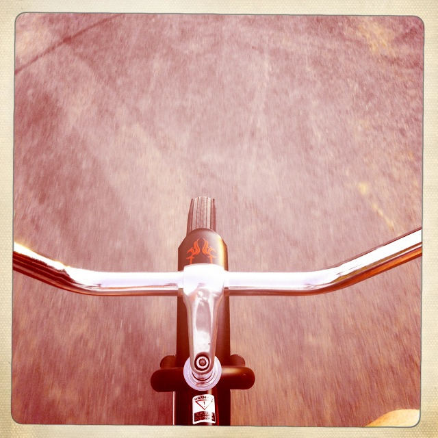 ohitison:  Early morning bike ride!