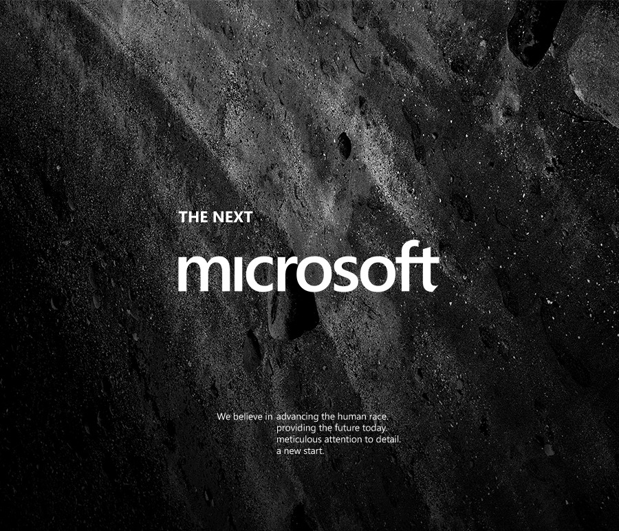 The Next Microsoft Awesome rebranding project by Andrew Kim.