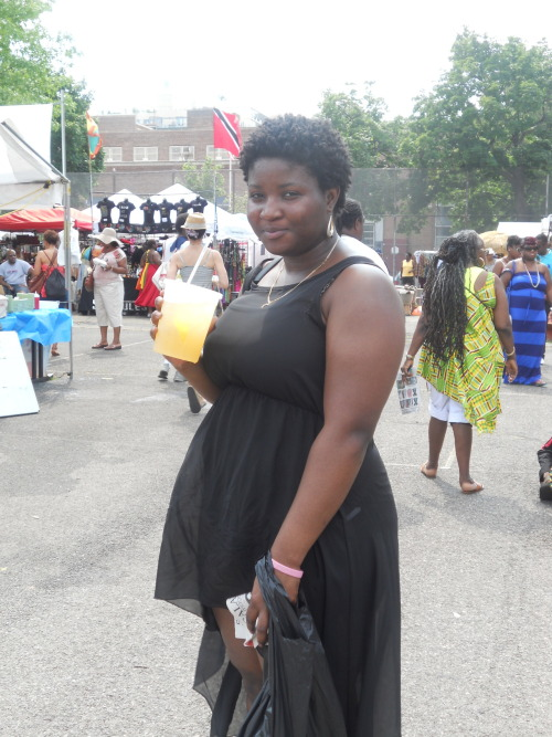 Lovely @ The 41st Annual African Art Festival last Sunday. That mango tea was something else.
