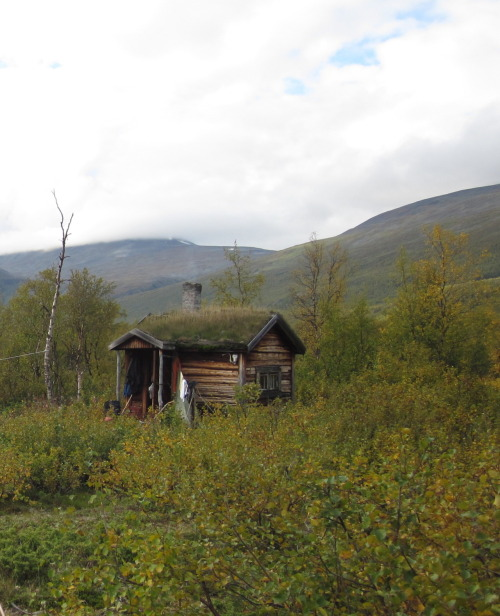 cabinporn:  Lisa's Cabin at near Kebnekaise, Sweden. Shared by Friedolin Turowski.