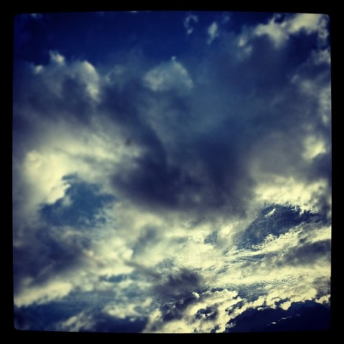 This Morning #clouds #sky  (Taken with Instagram)