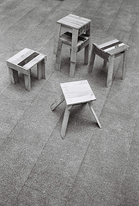 Stools by Pablo Limon