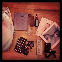#whatsinmybag  (Taken with Instagram)
