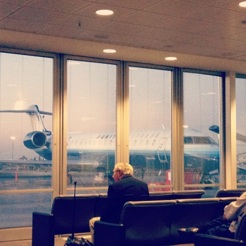 Dawn. #airport #dawn #fresno (Taken with Instagram)