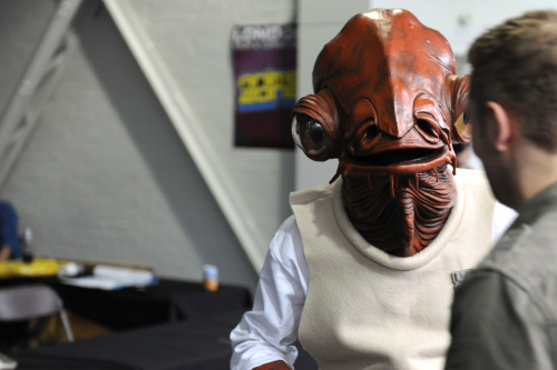 Admiral Ackbar @London Film & Comic Con Image by Alan Chang Full gallery here