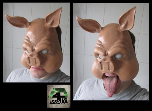 Finished Professor Pyg Mask V2.  SQUEEEEEEE SQUEEEEEEEEE
