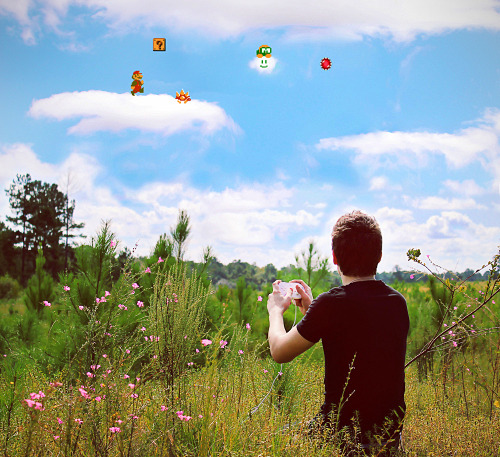gamefreaksnz:  Mario in the Sky Image by Ethan Klenk