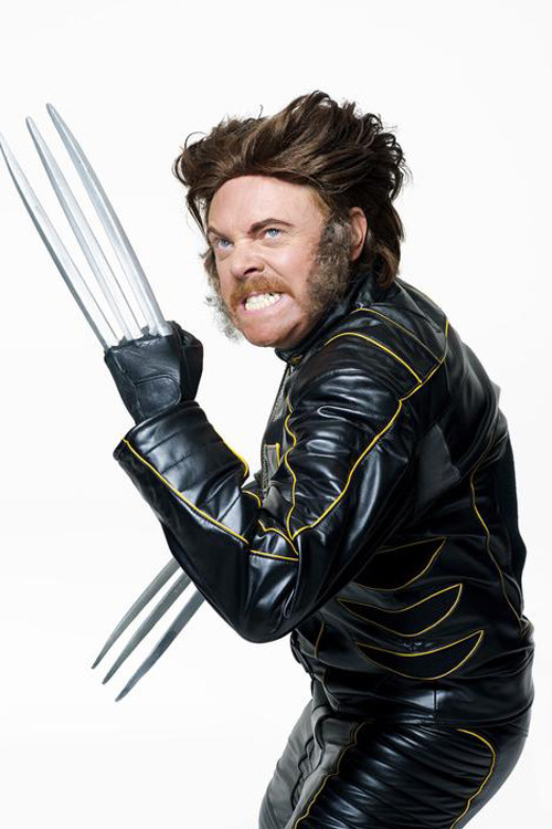 Exclusive outtakes from our Keith Lemon photoshoot In the brand new issue of Total Film magazine, you can see Keith Lemon suit up as a variety of badass movie icons.