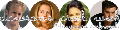 It's #dawsonscreekweek on Lovely!  (via Lovely At Your Side: It's Dawson's Creek Week! Team Dawson or Team Pacey? Which Are You?)