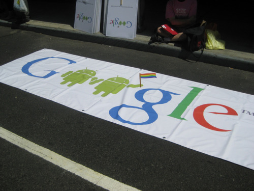 "Google doubles down on pride, says 'LGBT rights are human rights' Google is launching a new campaign, Legalize Love, to pressurize governments into recognizing and decriminalizing homosexuality. With Legalize Love, the search giant wants to ensure its staff have ""the same inclusive experience outside of the office as they do at work,"" and that LGBT (lesbian, gay, bisexual, and transgender) communities can feel safe and accepted wherever they are."