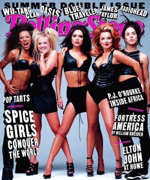 libbyslikesandloves:  Spice Girls on the cover of Rolling Stone.  I remember this…