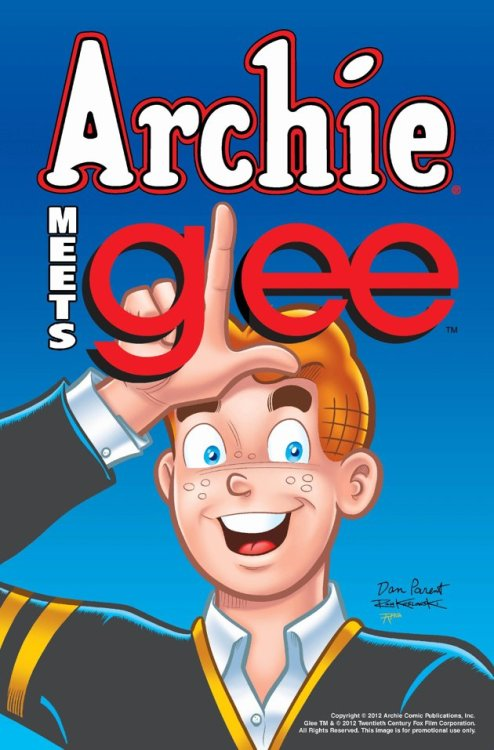 Archie Comic to Crossover with 'Glee' | Yahoo Characters from the show will appear in a comic arc written by show writer Roberto Aguirre-Sacasa,