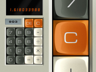 grafikr:  Dribbble - Abatron Calculator Buttons by Keith Sereby @dribbble.com