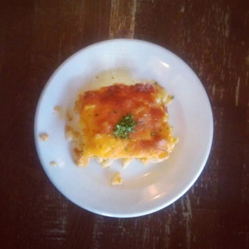 Baked mac 'n' cheese at Virginia's on King: Downtown Charleston. (Full blog post here.)