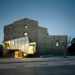 Convent de Sant Francesc, David Closes, in Santpedor, Spain  A church, built between 1721 and 1729, renovated and repurposed as a cultural centre with an auditorium and historical archive.
