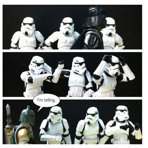 Blackmail is just another money making scheme for Boba Fett…