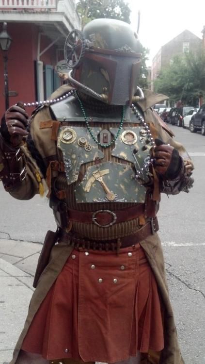 jeffsmth87:  Steampunk Boba Fett nerd girl *faints
