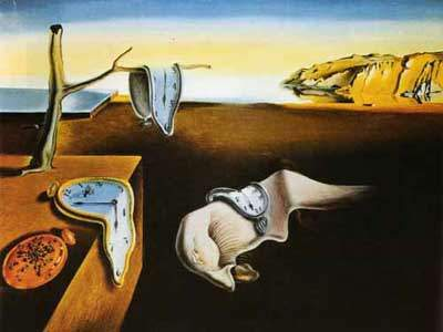 Salvador Dali, Melting Clocks