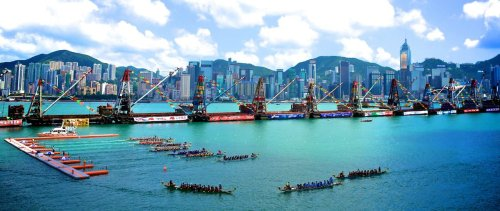 Hong Kong Dragon Boat Carnival 2012 via Coxmate on Facebook