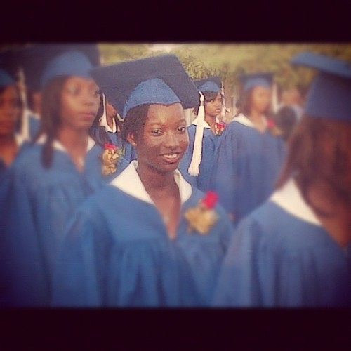 God sister graduating  (Taken with Instagram)