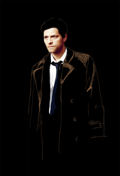 Unfinished Cas.  Yep! Finally I have free-time to paint :D