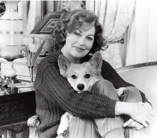 After Ava Gardner died, her Corgi went to live with Gregory Peck!