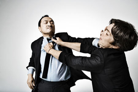 Ken Watanabe and Cillian Murphy, Inception style…