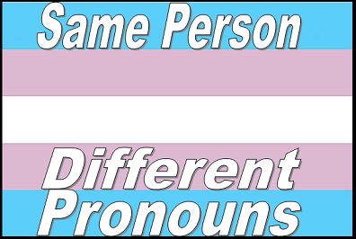 "Trans* Pronouns 101 (following text from Sundance Channel's SUNfiltered *LINK* from blogger Alexis Handwerker) Nobody wants to be that person in a social situation. You know, the one who gets their pronouns all wrong? There you are in a room with people identifying as ze, they or hir and it doesn't even occur to you to ask. You make a few assumptions about peoples' genders, are met with blank stares or even worse, and pretty soon you're in a corner all alone. Well, we're here to help you not be that person. If you're not sure what went wrong, but are sure you don't want to be that person in any room, then it may be time for you to update your gender and pronoun vocabulary. Avoiding a social faux pas and respecting a person's ability to identify themselves, will ensure you get an invite to the next function.  Pronouns are a basic building block of language that indicate the gender of the person you're referring to. Traditionally, pronouns come in he/him or she/her, and are determined based on what's assigned at birth. For example, when somebody is born and the doctor says, ""It's a girl! She's beautiful. What will you name her?""Cisgender folks are those who feel their bodies are aligned with their gender assigned at birth, which is the experience most supported by society.  So, for many cis folks, the story of their gender ends right there, as does their thinking about the appropriate label in which to address a person. But the two-party system of pronouns is outdated, as there are a range of people whose gender stories are more complex. Finding self-descriptive language that feels right can be a tricky process, and one that only the individual can determine best. Some transgender folks identify as male or female, though it's the opposite gender of the one assigned at birth. Genderqueers don't subscribe to the idea of only two genders and may feel more comfortable somewhere in between. Bigenders identify as male and female and some First Nations folks embody both feminine and masculine spirits. Agenders identify as no gender at all. Luckily, there are more neutral personal pronoun options now, including they/their, ze/hir, ey/eir and the newborn, Swedish 'hen' . Recognition of diverse gender identities has a long history around the world, and neutral pronouns are language's way of catching up. So, where does this leave you? When you're mingling at a party, heading up a meeting, or in school, just be mindful of the potential for multiple genders in the room. If you're unsure of someone's preferred pronouns, don't be afraid to ASK. Once you learn them, use them every time, like you would for anyone else. Not being that person can be as simple as that. Thank for asking! Want to learn more? Check out: Melissa Harris-Perry hosts an awesome show on MSNBC. Watch her recent episode on being transgender in America. Queer women of color talk gender, during Episode 2 of the phenomenal web series The Peculiar Kind. This interactive map lets you learn the names, history and culture of different gender identities around the world. Transgender People of Color Coalition work together to address issues that impact trans men and women of color. Get involved! Genderfork is an amazing online, volunteer run community for people across the gender spectrum to connect. Here you'll find photos, words of encouragement and opportunities to make friends. BLITZ is a comprehensive nationwide resource guide and online community for all people under the transgender umbrella and their allies."