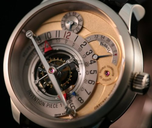 Greubel Forsey Invention Piece 1(via Fancy)