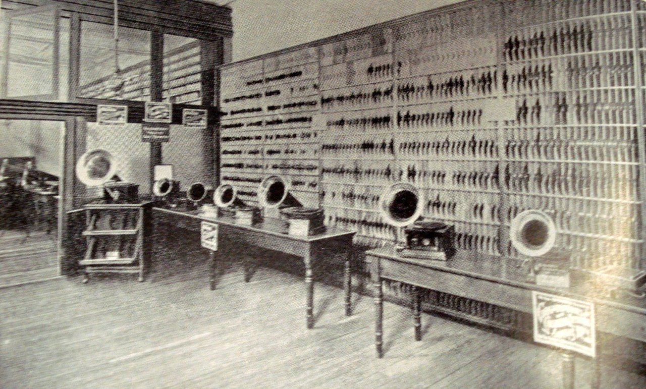 Going way back ~ Bloomingdale's Record Shop 1904