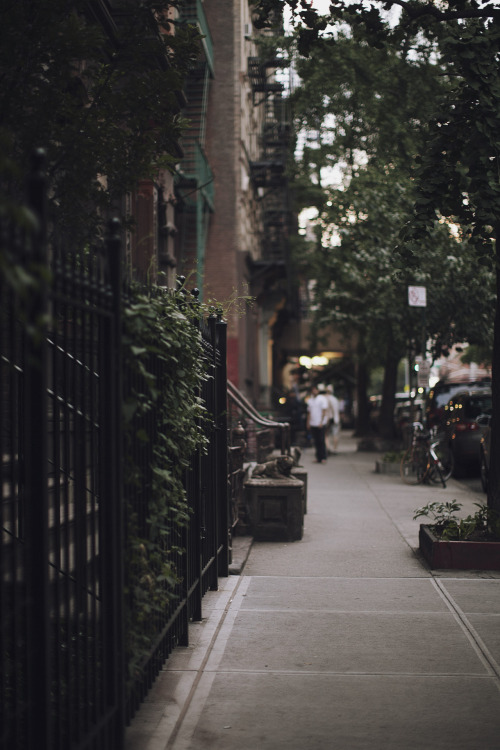 jamesnord:  Twilight in the East Village.